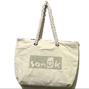 Handbags - Sanuk Reversible Natural Isla Tote Rope Yoga Tote